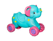 Kids elephant rocking chair Royalty Free Stock Photography