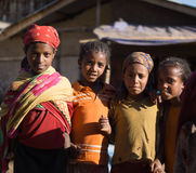Kids in ethiopia Royalty Free Stock Image