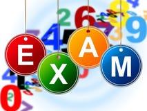 Kids Exam Shows Examinations Childhood And Children Stock Photos