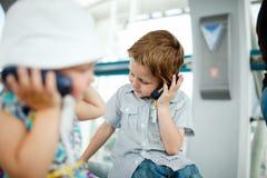 Kids on excursion Stock Image