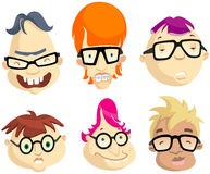 Kids with Eye Glasses Stock Images
