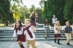Kids fashion Concept royalty free stock image