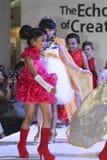 Kids fashion show Stock Photos