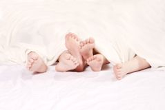 Kids Feet Stock Photography