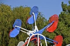 Kids Ferris wheel Stock Photography