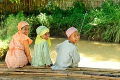 Free Kids Fishing Stock Image - 14508801