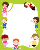 Kids frame Royalty Free Stock Images