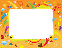 Fun Frame Royalty Free Stock Images