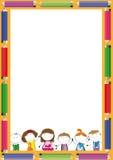 Kids frame Stock Photo
