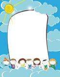 Kids frame Royalty Free Stock Photo