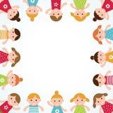 Kids frame. Vector illustration Stock Photo