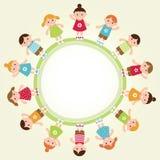 Kids frame. Vector illustration Royalty Free Stock Photo