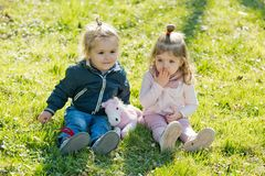 Kids, friends, friendship royalty free stock images