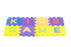 Kids Game Stock Image