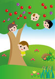 Kids game vector Stock Images