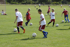 KIDS AT GET2SPORT Royalty Free Stock Image