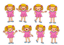 Kids girl Stock Images