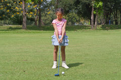 Kids golf Royalty Free Stock Photos