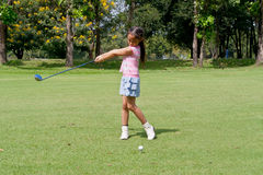 Kids golf Royalty Free Stock Photo