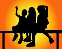 Kids Group ! Stock Image