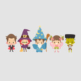 Kids Halloween Costume Royalty Free Stock Photography