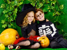 Kids halloween Stock Image