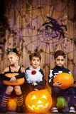 Kids halloween Royalty Free Stock Images