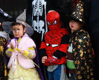 Kids At Halloween Royalty Free Stock Images