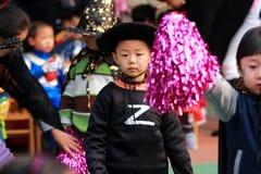Kids At Halloween Stock Photos