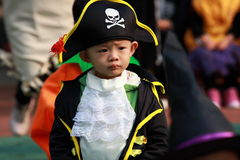 Kids At Halloween Royalty Free Stock Photos