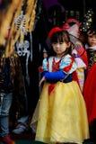 Kids At Halloween Royalty Free Stock Photos