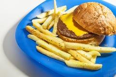 Kids Hamburger Stock Images