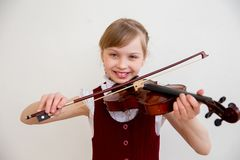 Kids in musical school stock photography