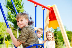 Kids having fun Stock Photos