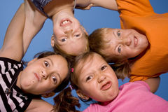 Kids having fun Royalty Free Stock Photos