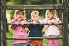 Kids having fun Royalty Free Stock Images
