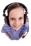 Kids headphone Royalty Free Stock Photos