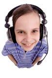 Kids Headphone Royalty Free Stock Photos