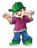 Kids Hip Hop royalty free illustration