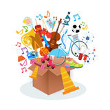 KIds Hobbies Art Classes Logo Workshop Creative Artistic School For Children Development Banner Royalty Free Stock Image