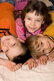 Kids At Home royalty free stock photo
