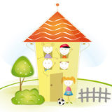 Kids house Royalty Free Stock Photo