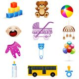 Kids icon Stock Photos