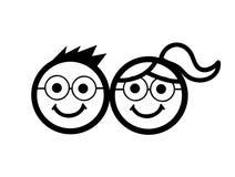 Kids icon vector illustration Royalty Free Stock Photo