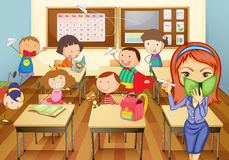 Free Kids In Classroom Royalty Free Stock Photo - 25541215