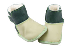 Kids insulated boots Royalty Free Stock Images
