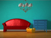 Kids interior Royalty Free Stock Photo