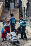 Kids in Jerusalem Royalty Free Stock Images