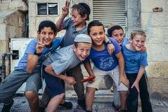 Kids in Jerusalem Stock Photos
