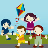 Kids_join Royalty Illustrazione gratis